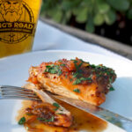 Ample Vengence Chicken (chicken with a honey IPA sauce)