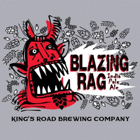 Blazing Rag Unisex Baseball Tee